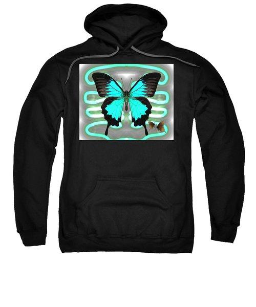 Butterfly Patterns 24 Sweatshirt
