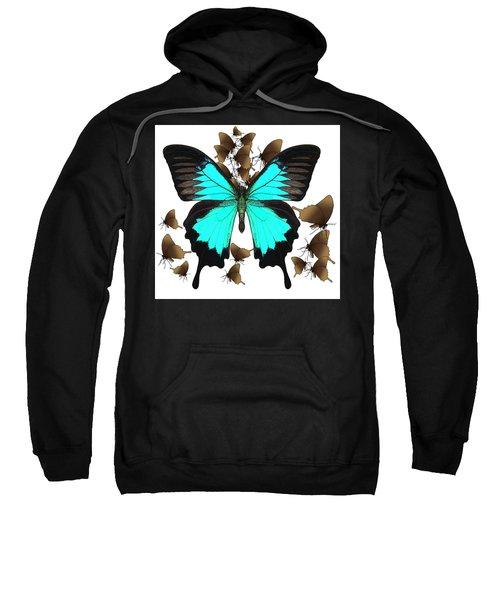 Butterfly Patterns 25 Sweatshirt