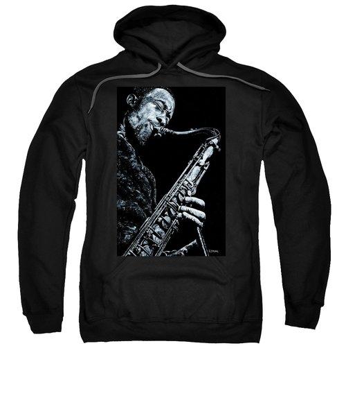 Casual Sax Sweatshirt