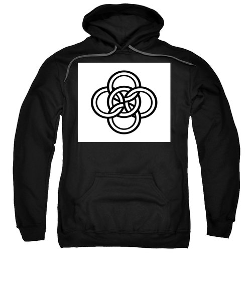 Celtic Five Fold Symbol 1 Sweatshirt
