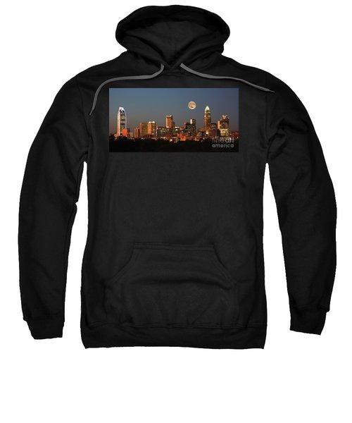 Charlotte City Skyline At Sunset Sweatshirt