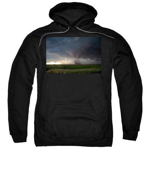 Chasing Naders In Nebraska 026 Sweatshirt