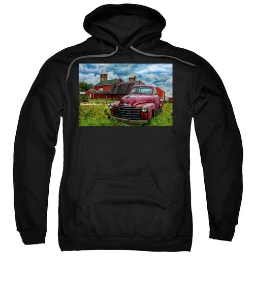 Chevrolet In The Countryside In Hdr Sweatshirt