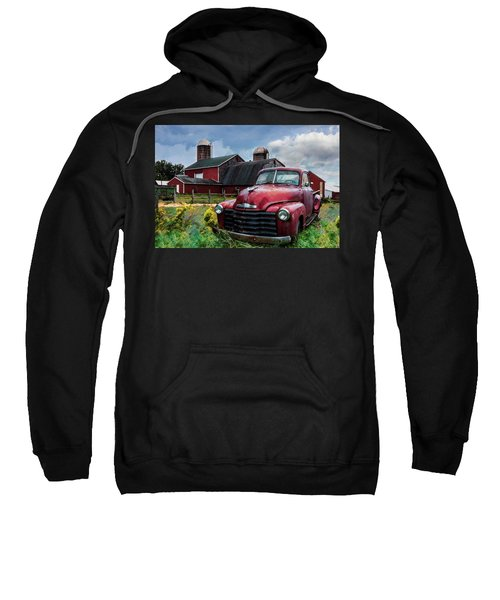 Chevrolet In The Countryside On A Summer Day Sweatshirt