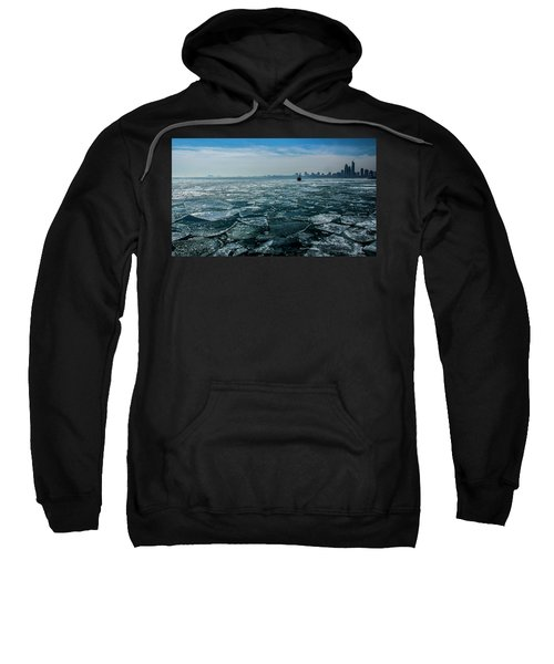 Chicago From Navy Pier 2 Sweatshirt