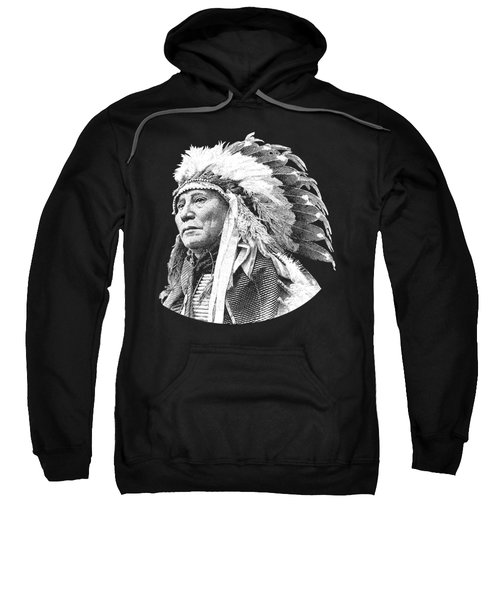 Chief Hollow Horn Bear Graphic Sweatshirt