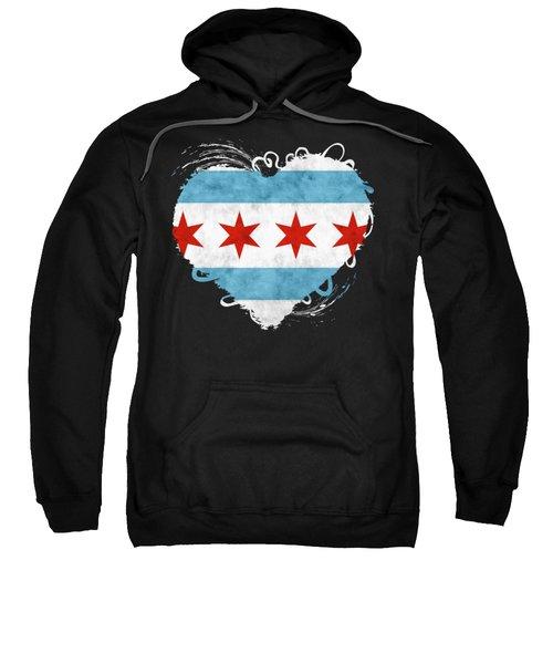 City Of Chicago Flag Sweatshirt