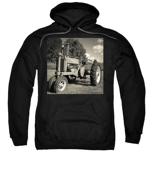 Classic Old Tractor Stowe Vermont Square Sweatshirt
