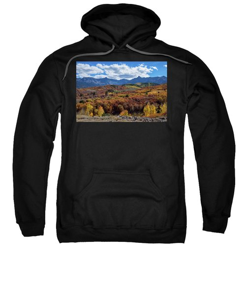 Sweatshirt featuring the photograph Colorado Color Lalapalooza by James BO Insogna