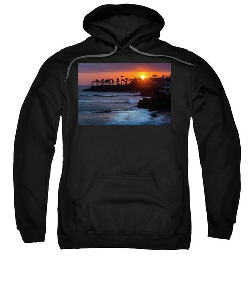 Colorful Laguna Beach Sunset Sweatshirt