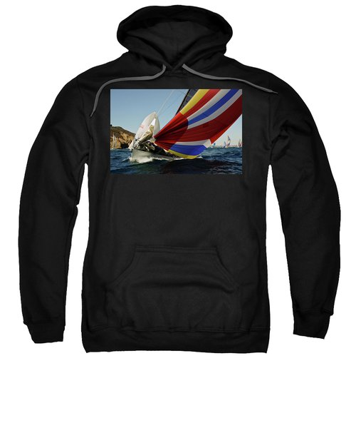 Colorful Spinnaker Run Sweatshirt