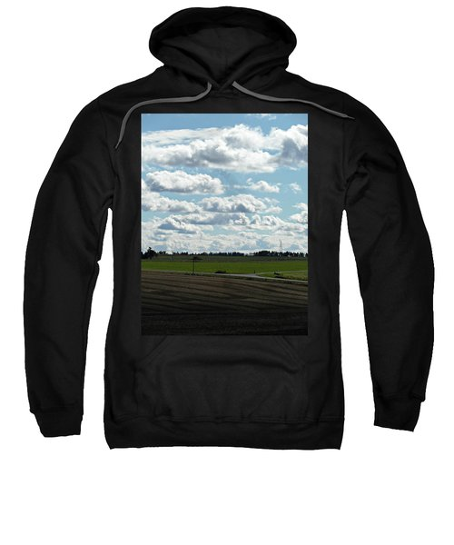Country Autumn Curves 4 Sweatshirt