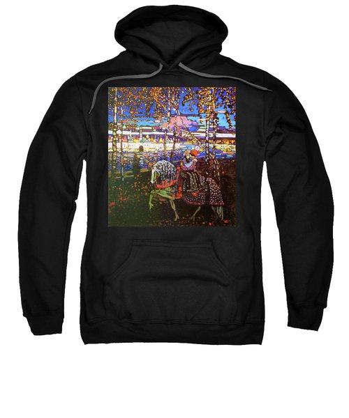Couple Riding - Digital Remastered Edition Sweatshirt