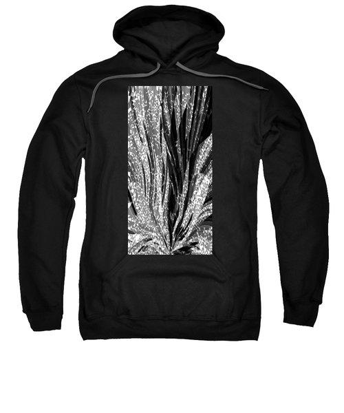 Crystal Floral Black Opposite Sweatshirt