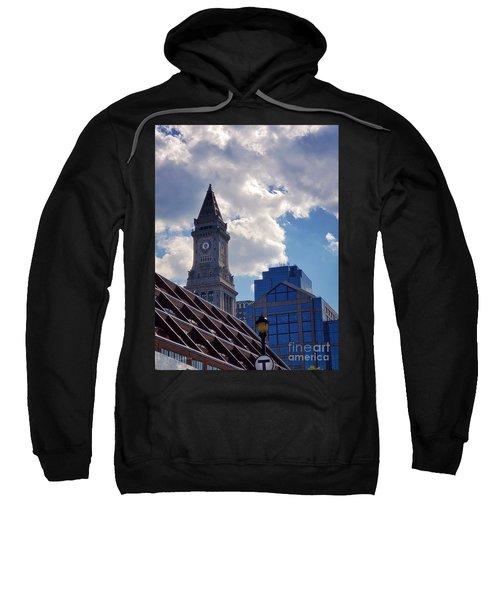 Custom House Clock Tower Sweatshirt