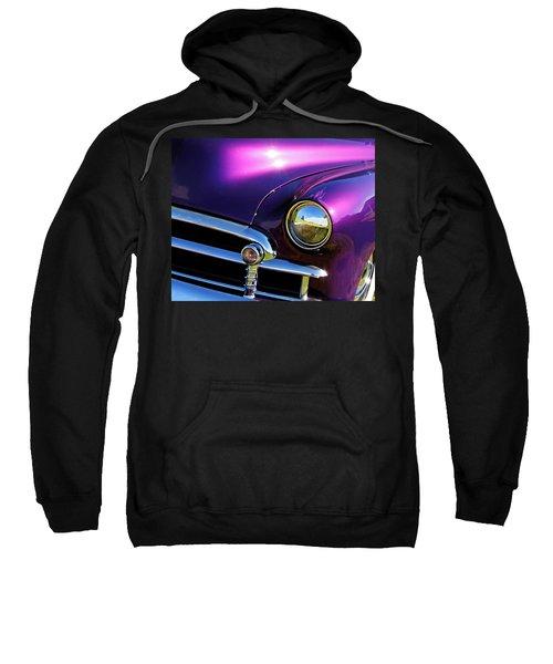 Custom Purple Chevy Sweatshirt