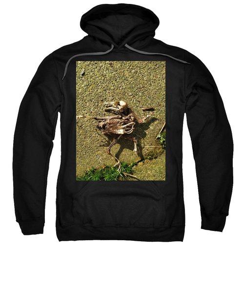 Death Shows Us We Are Nothing But Bones Sweatshirt
