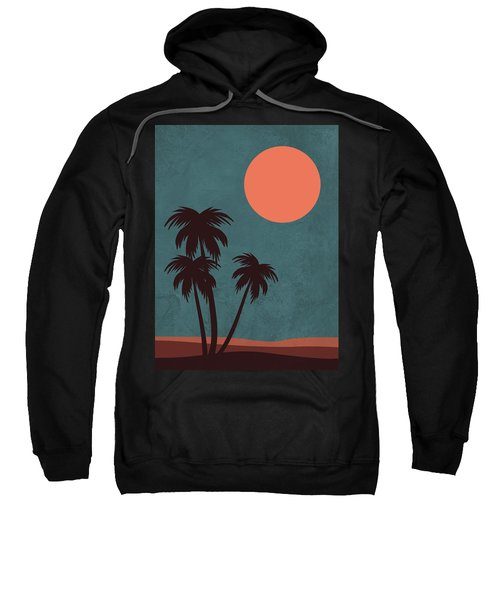 Desert Palm Trees Sweatshirt