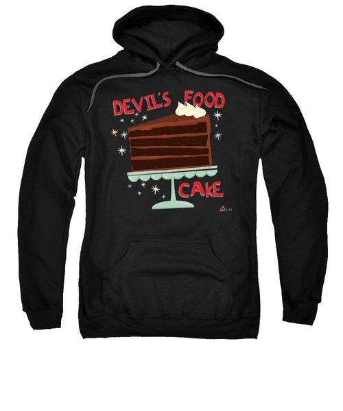Devils Food Cake An All American Classic Dessert Sweatshirt