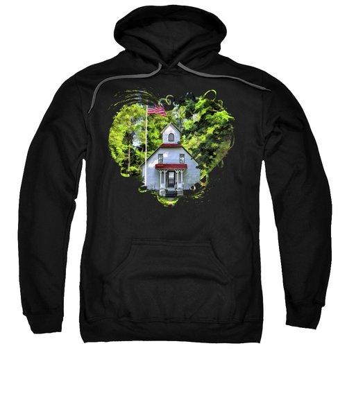 Door County Baileys Harbor Upper Range Lighthouse Sweatshirt