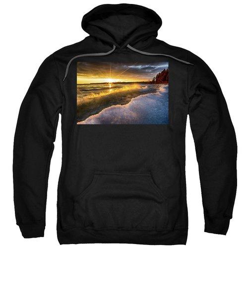 Door County Sunset Sweatshirt