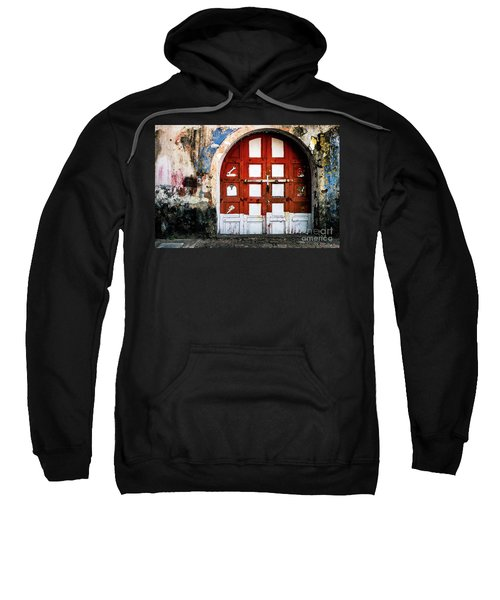 Doors Of India - Garage Door Sweatshirt