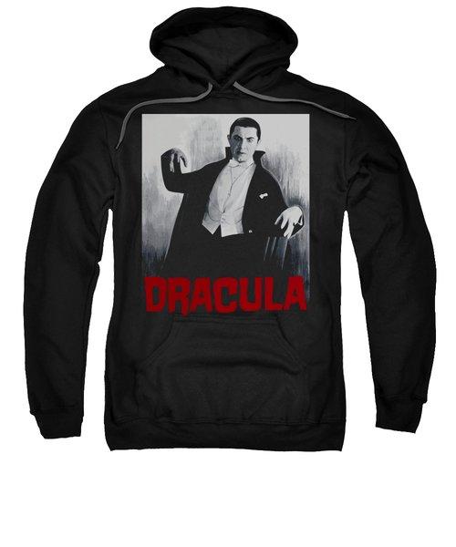 Dracula Vitage Poster Sweatshirt