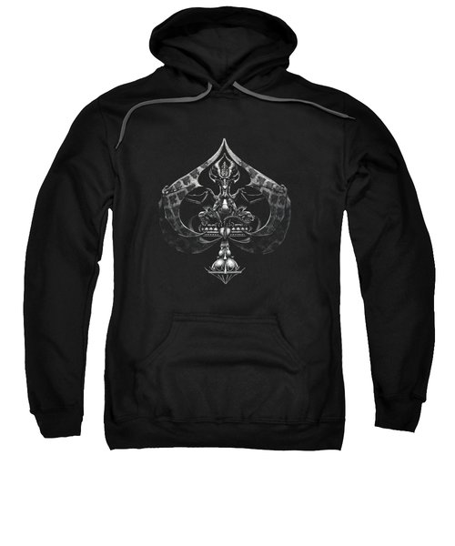Dragon Of Spades Sweatshirt