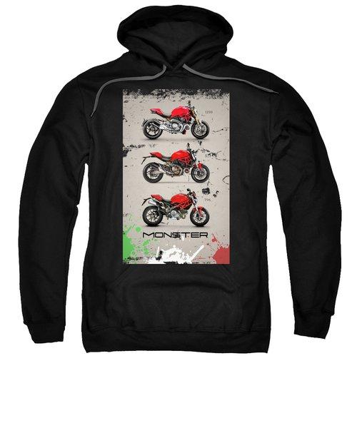 Ducati Monster Trio Sweatshirt