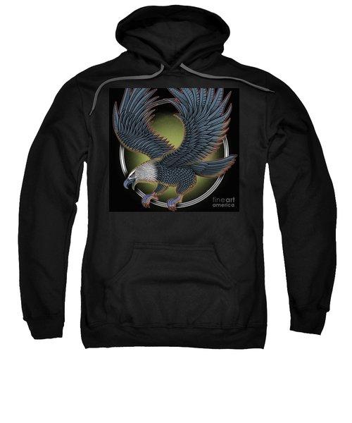 Eagle Illustration  Sweatshirt