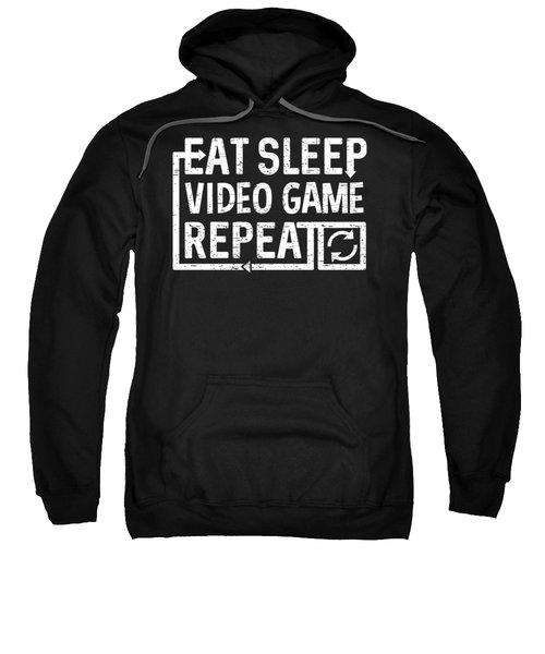 Eat Sleep Video Game Sweatshirt