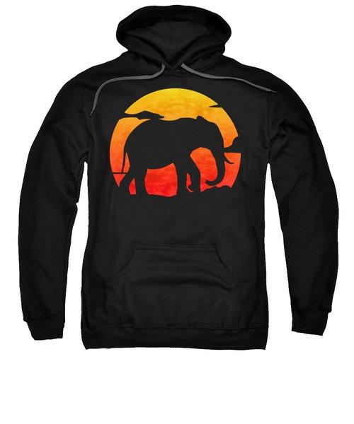 Elephant Sunset Sweatshirt