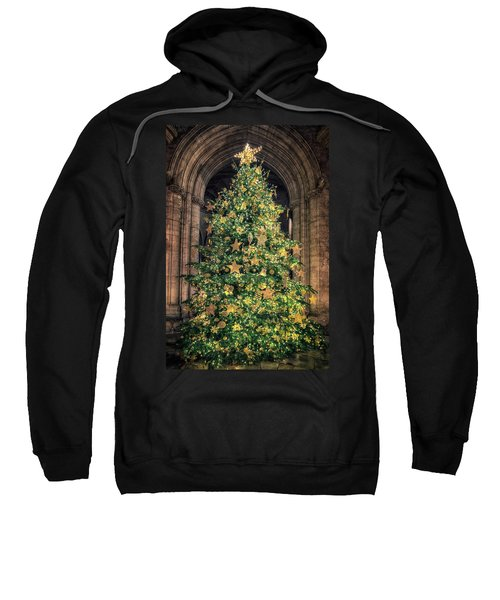 Ely Cathedral Christmas Tree 2018 Sweatshirt