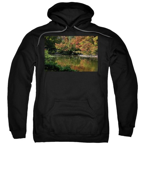 Fall At The Japanese Garden Sweatshirt