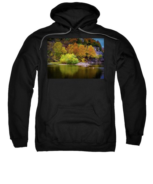 Fall Colors Of The Ozarks Sweatshirt