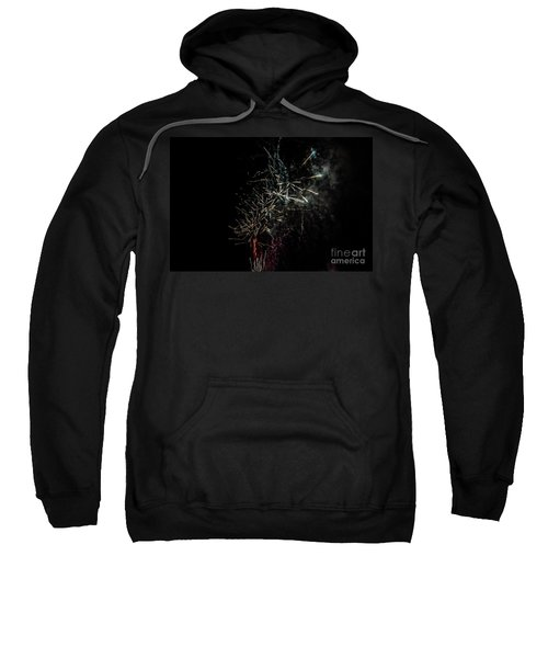 Fireworks Display With Multiple Colors Sweatshirt