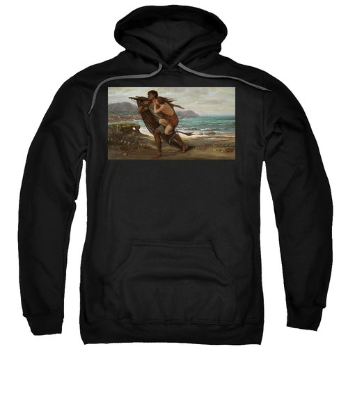 Fisherman And Mermaid, 1889 Sweatshirt