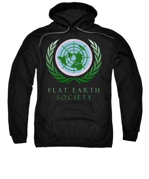 Flat Earth Society Sweatshirt