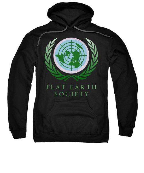Flat Earth Society Sweatshirt