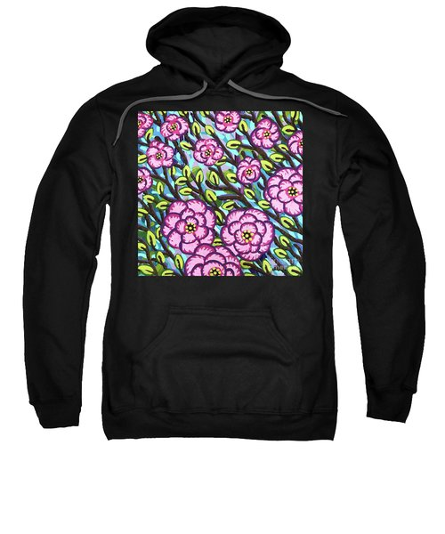 Floral Whimsy 3 Sweatshirt