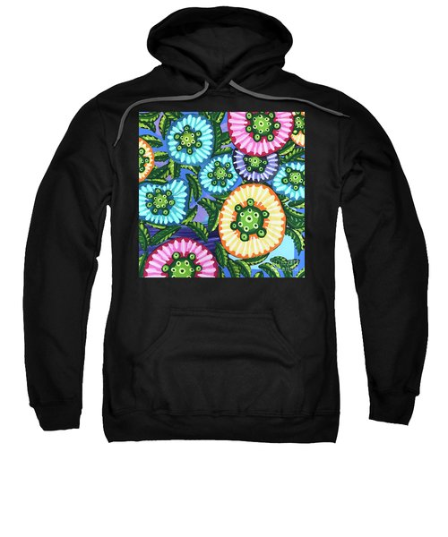 Floral Whimsy 6 Sweatshirt