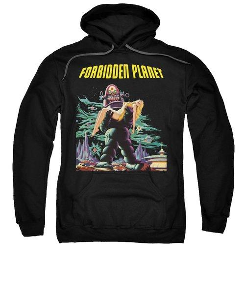 Forbidden Planet Vintage Movie Poster Sweatshirt