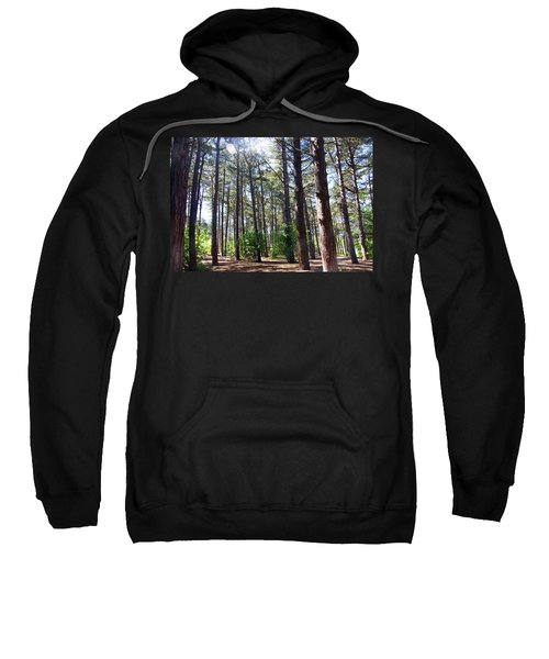 Formby. Woodland By The Coast Sweatshirt