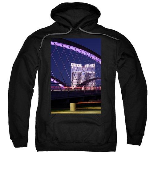 Fort Worth West Seventh Street Bridge V2 021419 Sweatshirt