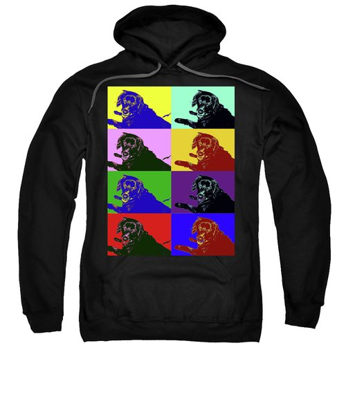 Foster Dog Pop Art Sweatshirt