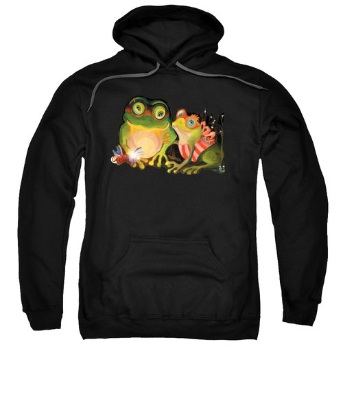 Frogs Overlay  Sweatshirt