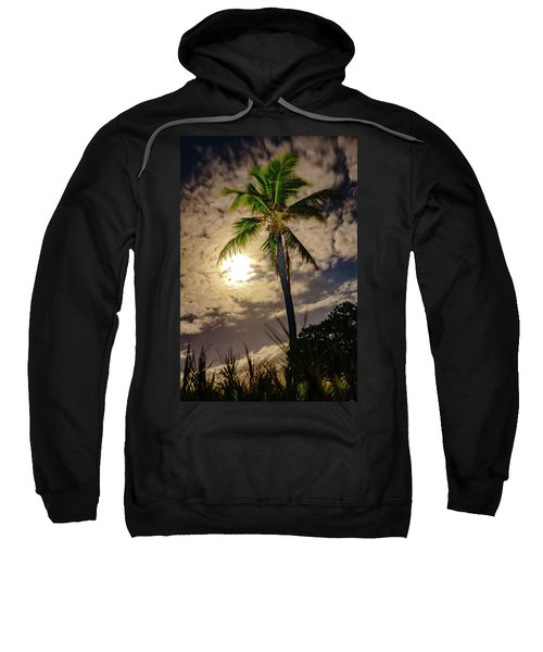 Full Moon Palm Sweatshirt