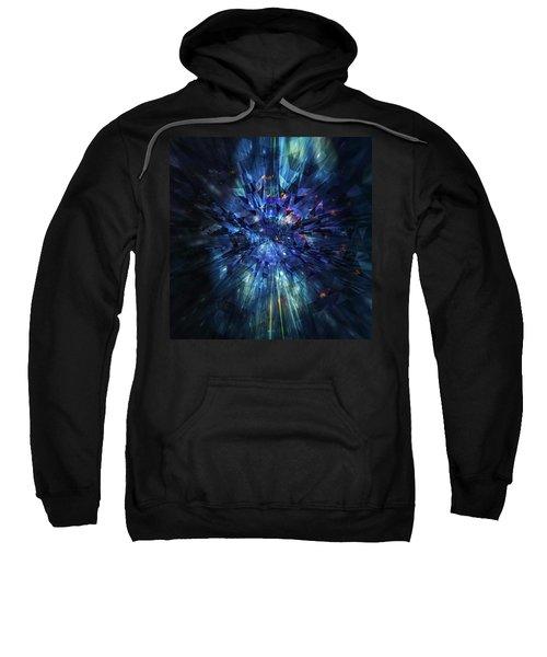 Galactic Crystal Sweatshirt
