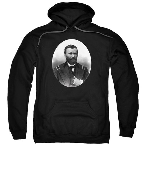 General Grant Engraved Portrait Sweatshirt