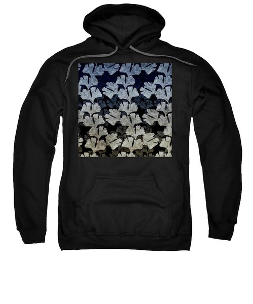 Ginko Leaf Pattern Sweatshirt